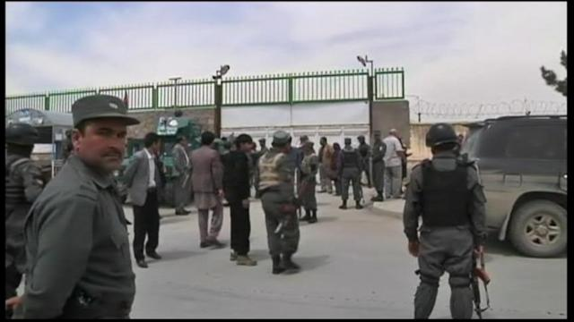 VIDEO: Guard Opens Fire at Kabul Hospital