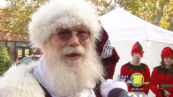 Santa Clause makes it out to River Park