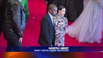 Kim, Kanye Reportedly Name Baby `North West`