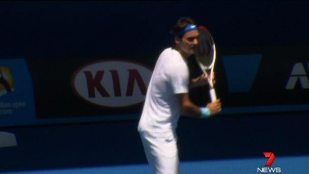 Federer says he'll be ready for Aus Open