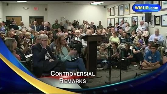Wolfeboro residents outraged after racial remark