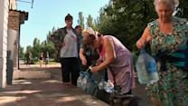 Fear and hardship in Slaviansk