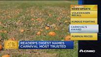 CNBC update: Pumpkin prices rise for the holidays