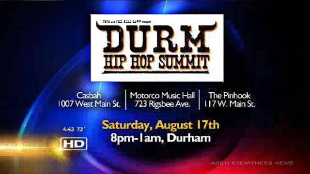 Hip hop summit heads to downtown Durham