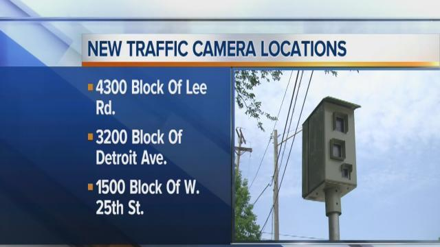 Traffic camera locations