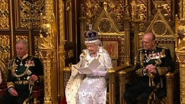 Signs Queen may pass on baton