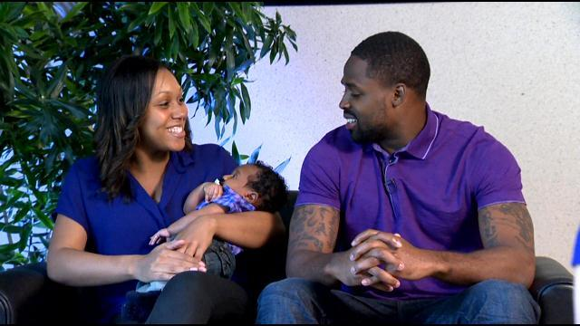 Oh, Boy! First-Time Dad Torrey Smith Introduces WJZ To His Family