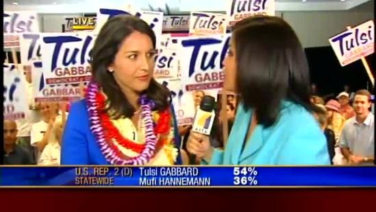 Gabbard speaks after getting bigger lead in updated election results