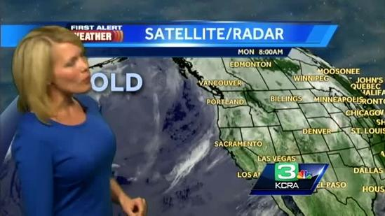 Tamara's forecast: Cold, wet system headed our way