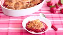 Strawberry Cobbler Dessert