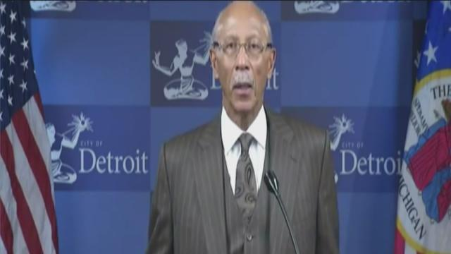Mayor Bing reacts to Emergency Financial Manager