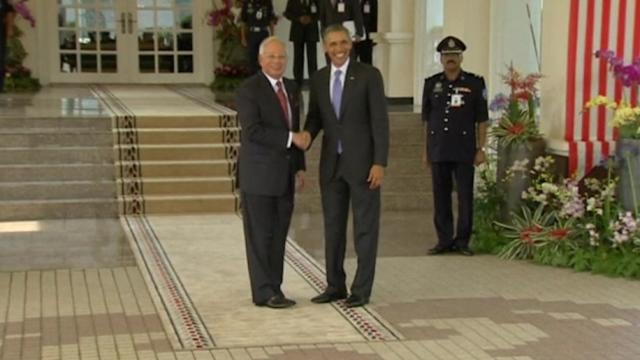 US president meets with Malaysian PM