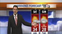 Friday's Forecast: More flurries on the way