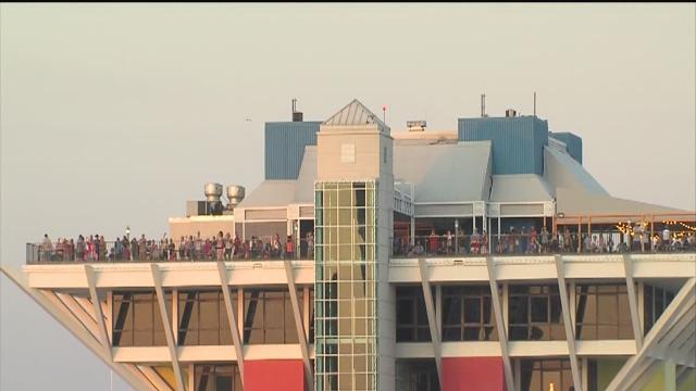 fireworks marks final farewell to st. pete pier