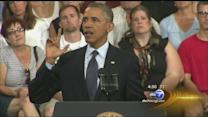 President Obama addresses middle class at Knox College in Galesburg