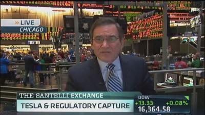 Santelli Exchange: Tesla & regulatory capture