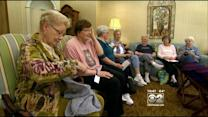 Grandmothers Knit From The Heart For Service Members
