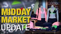 Midday Report: Lululemon Sinks on Ratings Cut; Stocks Slip