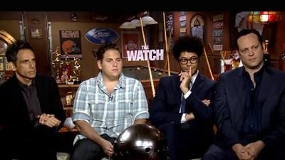 Ben Stiller, Jonah Hill, Richard Ayoade And Vince Vaughn Talk 'The Watch'