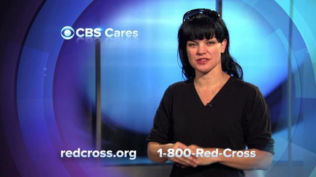 Pauley Perrette on Red Cross
