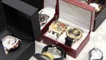 Miami Dade police put stolen items on display