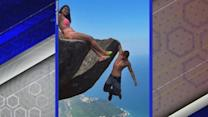 Daredevil Couple Take Sightseeing to New Heights