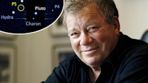 Star Trek's William Shatner Names New Moon