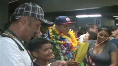 Hilo Welcomes Home Baseball Champs
