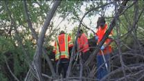 Homeless camps cleared out by city