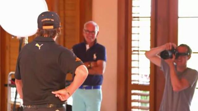 Golf Digest Cover Shoots - Behind the Scenes with Rickie Fowler