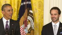 Obama Honors NASCAR's Johnson at WH