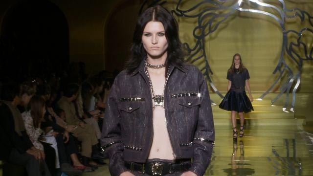 Style.com Fashion Shows - Versace Spring 2014 Ready to Wear