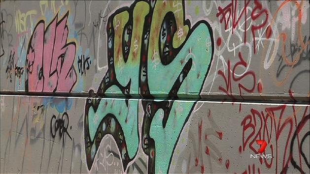 Crackdown on youth graffiti