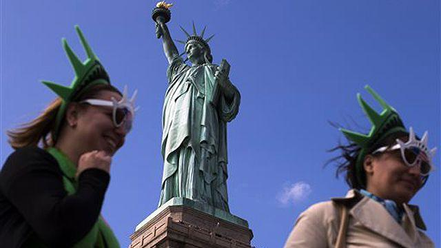 The Statue of Liberty reopens