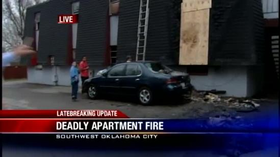 Deadly apartment fire investigated in SW OKC