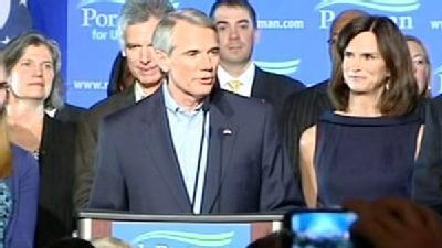 Rob Portman Delivers Victory Speech
