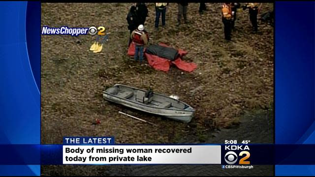 Missing Woman's Body Found In Private Lake