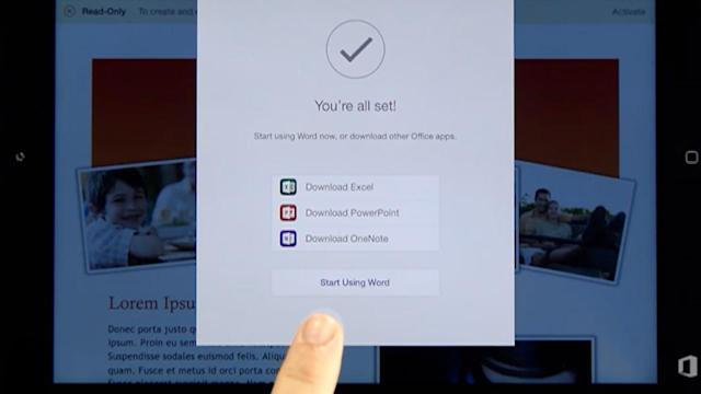Microsoft Unveils Office Software for iPad, and More