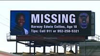 Police Continue To Search For Clues In Barway Collins' Disappearance