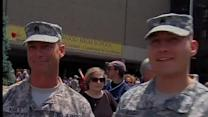 Ohio's 112th Engineer Battalion homecoming