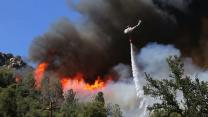 Firefighters Battle Wildfire In Yosemite National Park