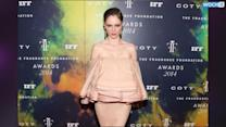 Coco Rocha Makes The Fanciest Lamp Shade Ever!