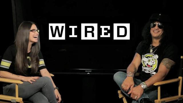 WIRED Live - Slash Talks Movie Music and Scoring the Horror Film Nothing Left to Fear
