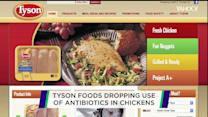 Tyson wants drug-free chickens