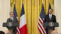 President Obama and French President Hollande on Isis strategy