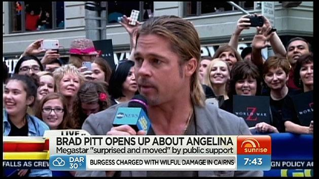 Brad Pitt opens up about Angelina
