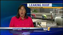 Ceiling water leak at capitol building causes major problems