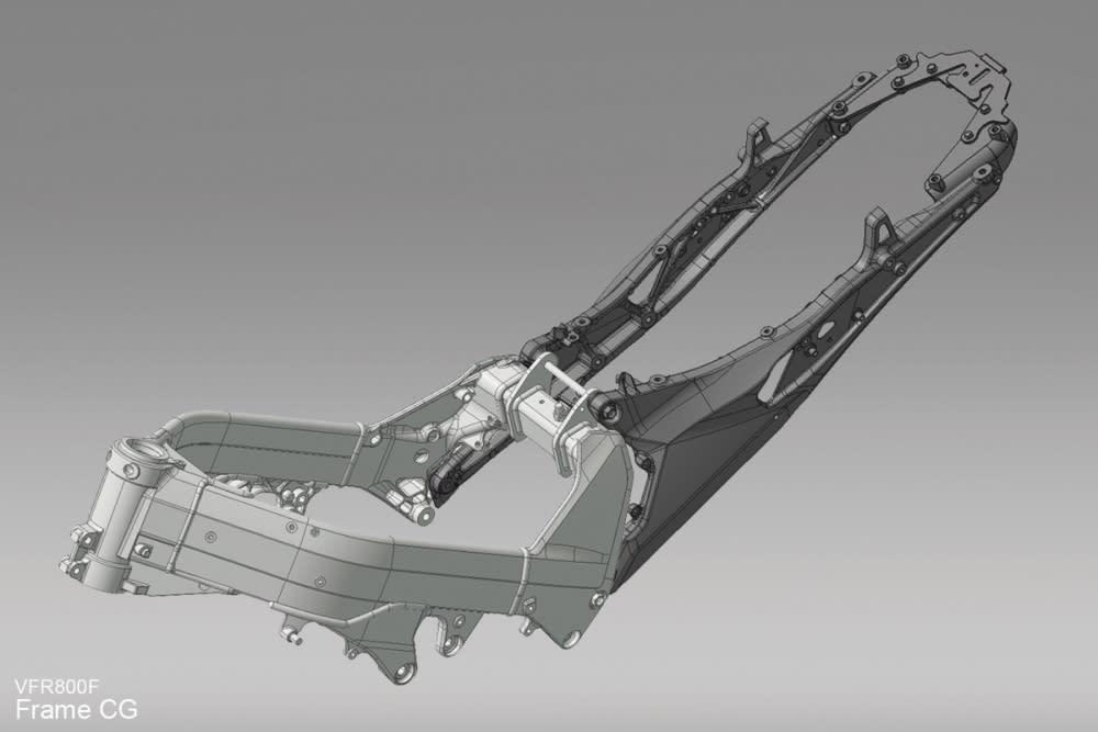 RC79 將副車台重新設計,達到輕量化的效果。
