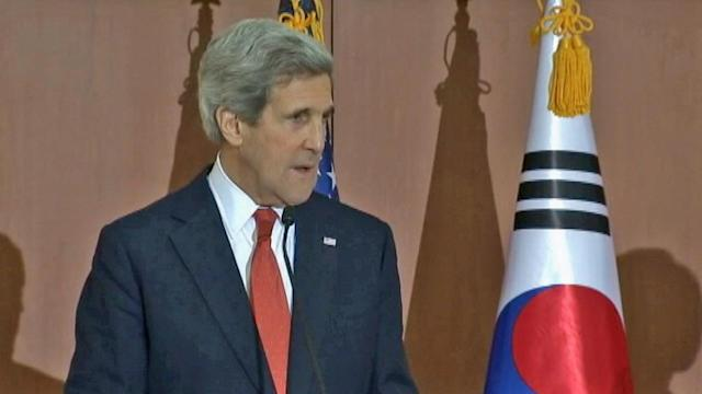 North Korea missile test would be mistake - John Kerry