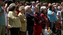 Special Memorial Day Ceremony Held At Fort Logan National Cemetery